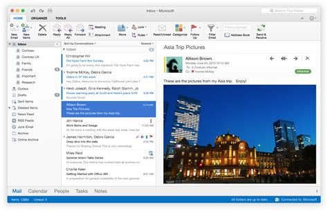 Office 365 Outlook Look And Feel Look Microsoft Office 2016 For Mac Doesn T Feel
