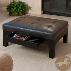 christopher knight home chatham dark espresso bonded leather storage ottoman 1000 images about coffee table replacement on pinterest
