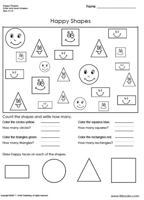 worksheets shapes grade 2 shape worksheets for first grade lesupercoin printables