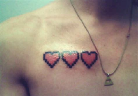 game heart tattoo zelda image 252315 on favim com