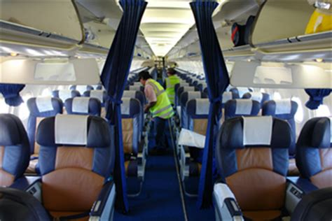 Aircraft Cabin Cleaner by K T Aviation Services Pty Ltd Services
