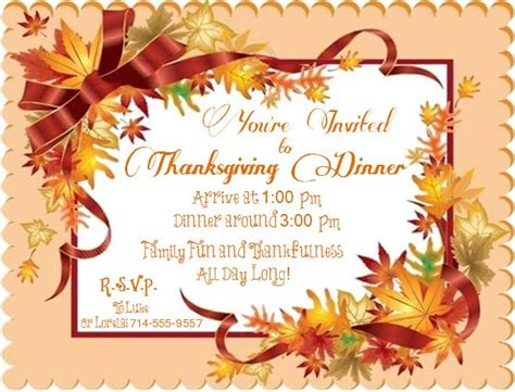 Come With Me My Thanksgiving Ae Invite by An Invitation To Thanksgiving With Lorelai