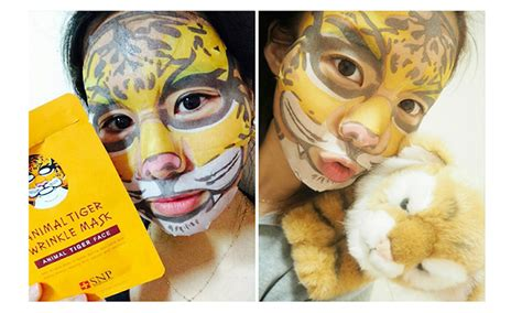 Best Quality Tiger Mask Snp Animal Mask Masker Binatang snp animal mask 1ea 100 authentic korean product