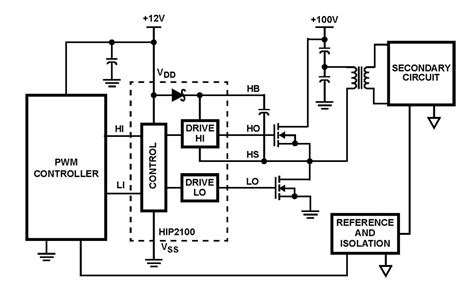 mosfet driver circuit diagram half bridge mosfet driver circuit diagram circuit and