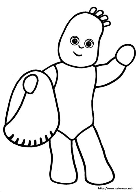 Free Coloring Pages Of Iggle Piggle Upsy Daisy Iggle Piggle Colouring Pages
