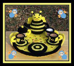 Set Ami Bee en liten blogg med mycket pyssel virka en geting ett