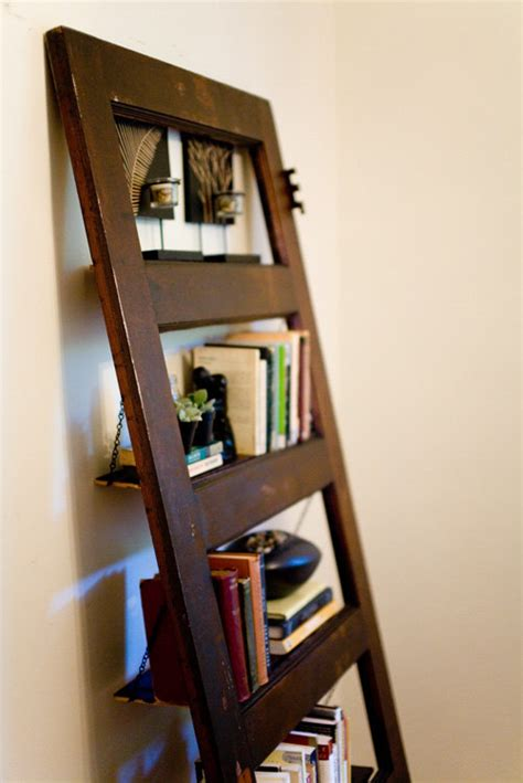 vintage door repurposed bookshelf woodie shelf 012