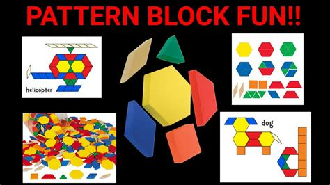 youtube pattern blocks playing with pattern blocks youtube
