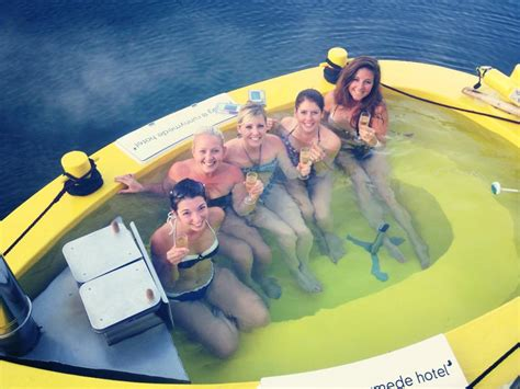 floating hot tub the floating hot tub we test the ultimate superyacht toy