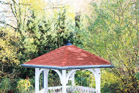 pavillon komplett set regenrinnen set f 252 r pavillon nancy 2 stahl verzinkt u