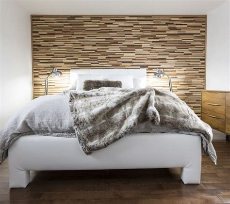 how to make wood paneling look modern add a warm contemporary look to any room with easy diy