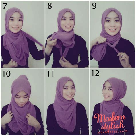 simple hijab tutorial style for beginners hijab tutorial for beginners ii muslimahsplash