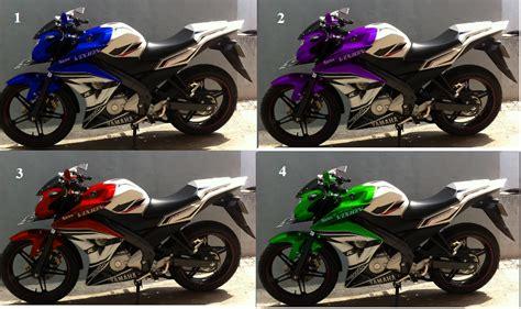 kombinasi warna teduh akan dominasi modifikasi motor 2013 pilih kombinasi warna new vixion pengetahuan
