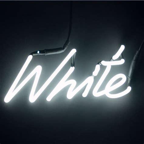 illuminazione neon scopri applique avec prise neon shades white bianco di