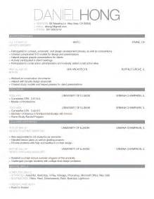 american cv template updated cv and work sle dan s banana
