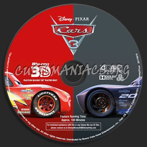 download film cars 3 bluray cars 3 blu ray 3d blu ray label dvd covers labels