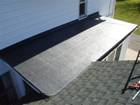 new epdm flat roof installed rubber roof installation edgerton ohio jeremykrill