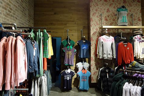 retail clothing racks for superdry clothing stores