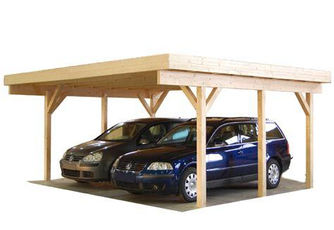 carport holz billig carport und garage aus holz magnum 2 kaufen