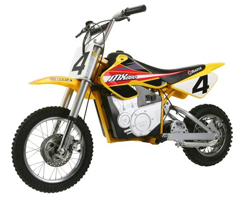 razor motocross bike razor mx650 electric dirt rocket bike 650 watt motorcycle