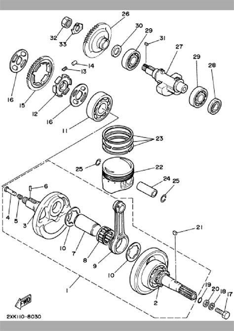 2002 yamaha warrior engine diagrams wiring diagrams
