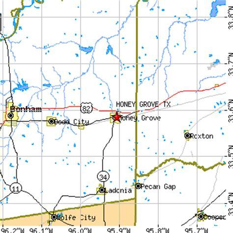 grove texas map honey grove texas tx population data races housing economy