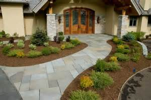 landscaping this front entrance is landscaped n