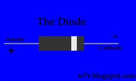 diode negative side diodes and diode logic w7r tech