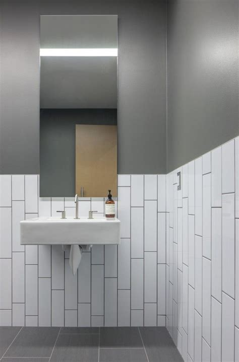 Black Subway Tile Bathroom » Home Design 2017