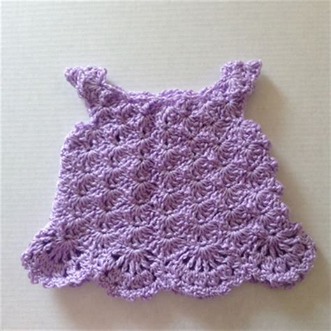 Handmade Crochet Baby Dress - newborn crochet dress handmade baby purple envie