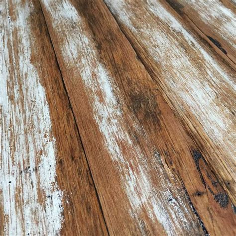 Distressed Timber Flooring - distressed recycled timber table top apex