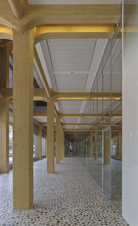 Banning Post Office by Gallery Of Tamedia Office Building Shigeru Ban