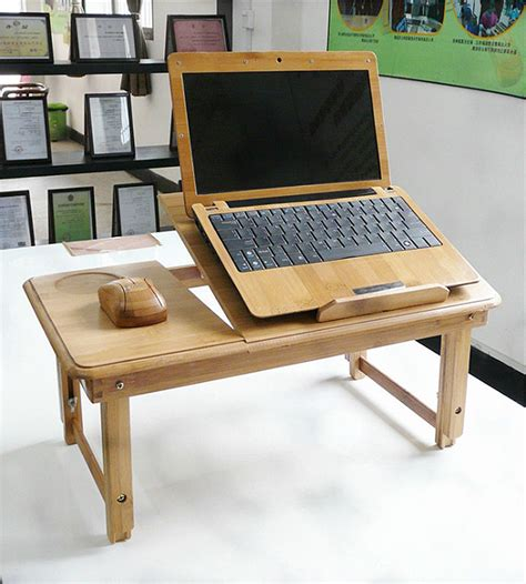 Now You Can Use Your Computer More Comfortable With The In Bed Laptop Desk