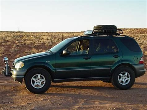 mercedes truck lifted mercedes ml 320 w163 lifted vehicles and places