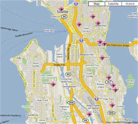 seattle map of crime seattle crime maps spotcrime the s crime map