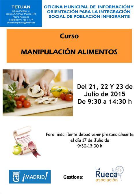 permiso de manipulacion de alimentos nuevos cursos de manipulaci 243 n de alimentos oficina