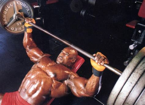 ronnie coleman bench press max ronnie coleman in the flesh part 3 train body and mind