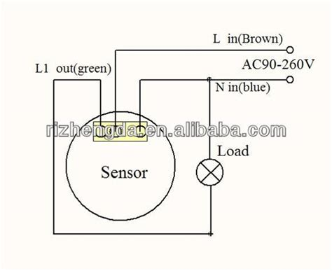 pir light sensor wiring diagram efcaviation