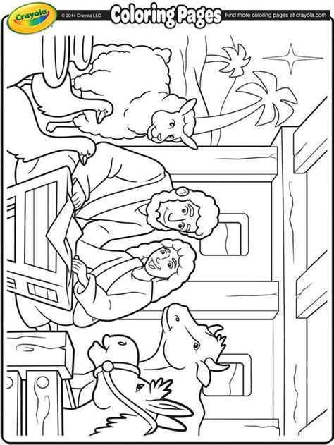 cute nativity coloring pages nativity coloring sheet from crayola coloring pages