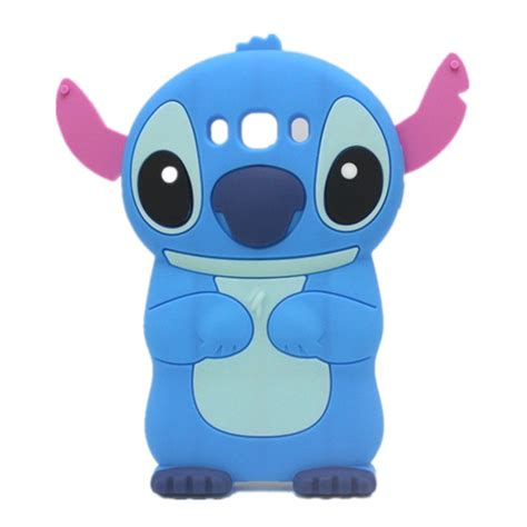 Samsung J7 2016 J710 Stitch 3d Karakter Silicone Casing Lucu 1 lovely 3d soft rubber skin silicon silicone stitch cover for samsung galaxy j3