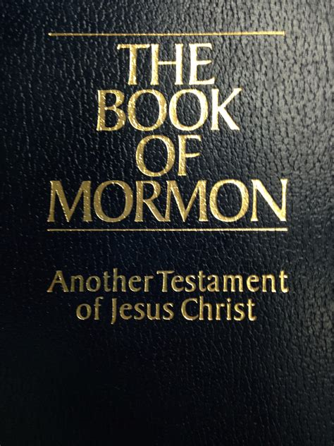book of mormon picture mormons react to quot the book of mormon quot musical coming to