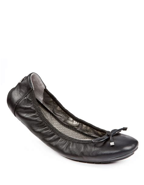 me shoes flats me halle ballet flats with bow accent in black black
