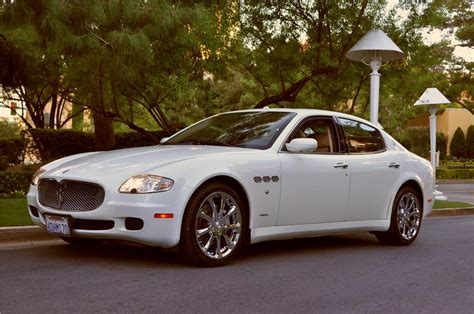 maserati 4 door sports car 2007 maserati quattroporte 4 door sedan 181366