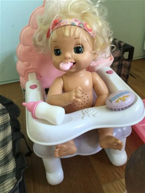 baby alive high chair cupcake selection of dolls baby alive kissy and accessories