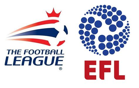 english football league and football league to named efl as part of major rebrand ahead of the 2016 17 season daily mail