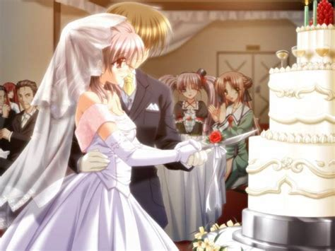 wedding anime anime couples images wedding wallpaper and