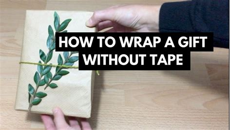 how to wrap a gift without how to wrap a gift with no zerowaste