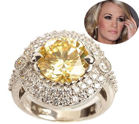 carrie underwood engagement ring replica
