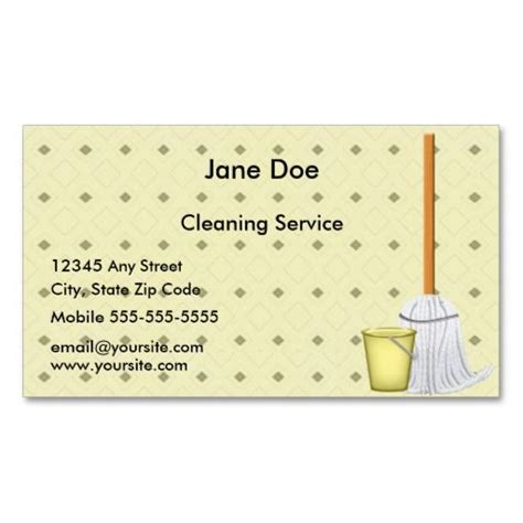cleaning business cards templates 200 best services business cards images on