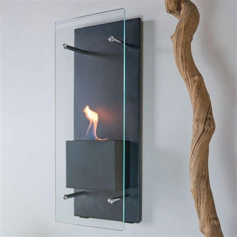 In Wall Ethanol Fireplace by Nu Cannello 11 75 In Wall Mount Decorative Bio